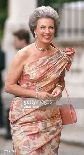 Princess Benedicte Of Denmark Attends A Gala At Bridgewater House Prior To The Wedding Of Princess Alexia Of Greece And Carlos Morales Quintana.