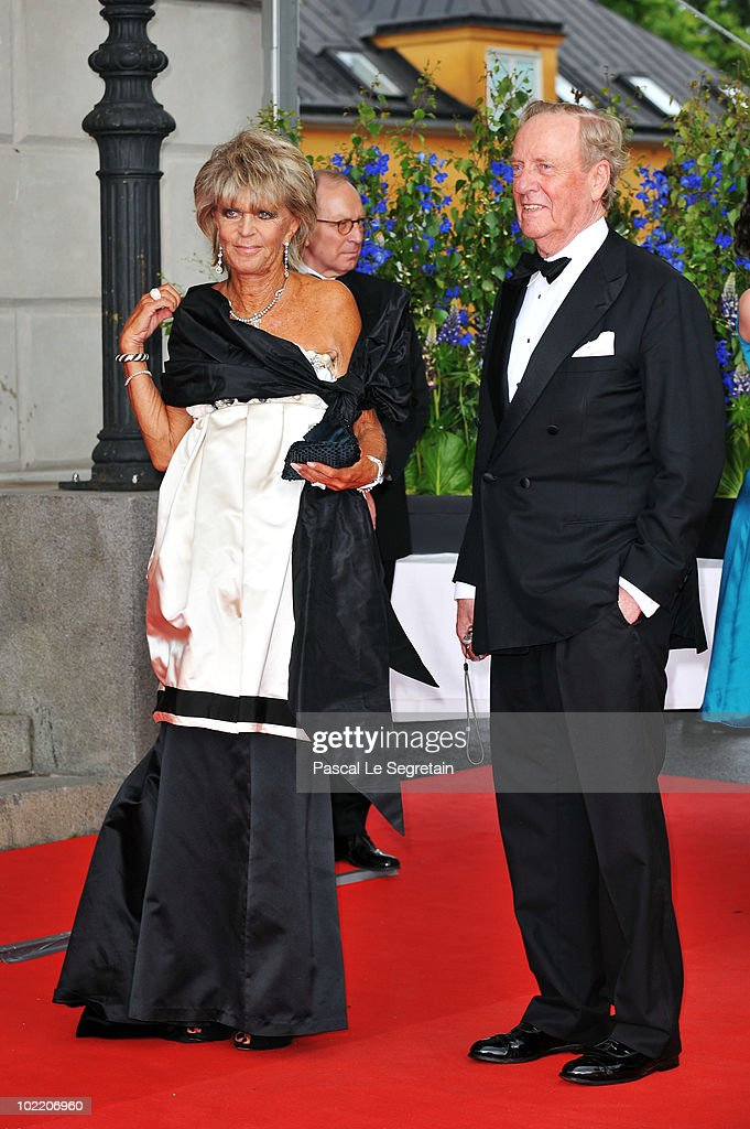 Princess Benedikte and Prince Richard zu Sayn-Wittgenstein-Berleburg attend the Government Pre-Wedding Dinner for Crown Princess Victoria of Sweden and Daniel Westling at The Eric Ericson Hall on June 18, 2010 in Stockholm, Sweden.