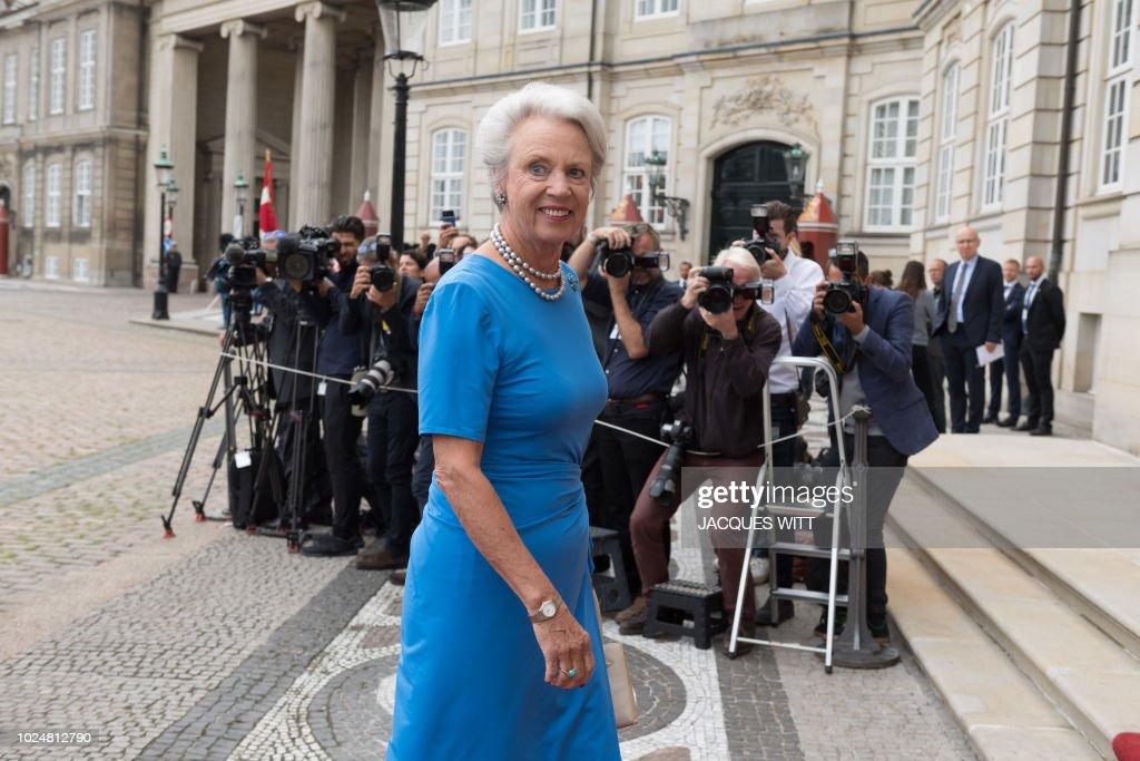 DENMARK-FRANCE-POLITICS-DIPLOMACY-ROYALS : News Photo