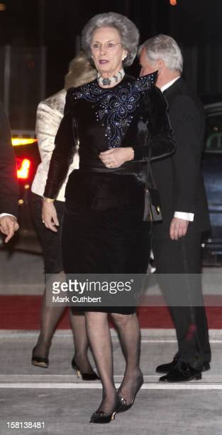 Princess Benedikte At The Gala Opening Of The New Concert House In Copenhagen Denmark
