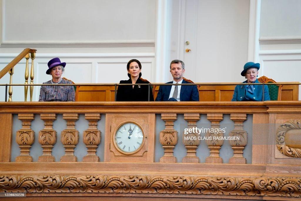 DENMARK-POLITICS-PARLIAMENT-ROYALS : News Photo