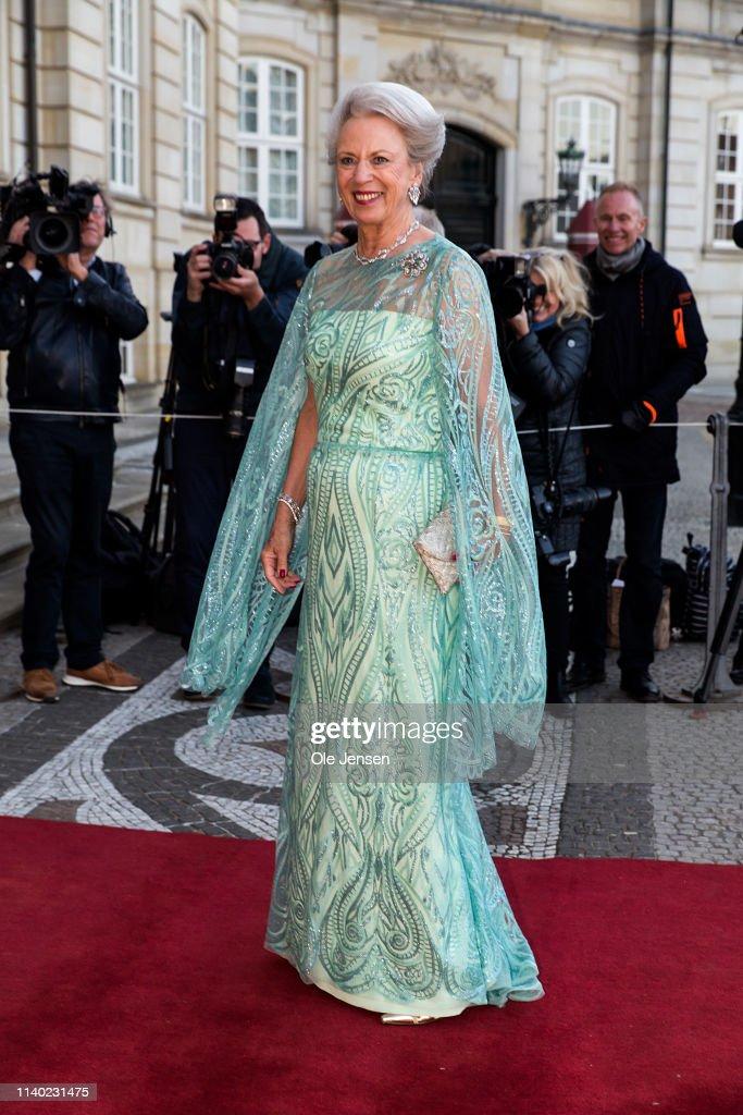 DNK: Queen Margrethe Of Denmark Hosts Birthday Dinner For Her Sister Princess Benedikte