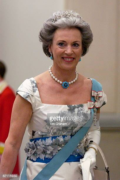 Princess Benedikte Of Denmark Attending A Reception At The Christiansborgs Palace To Celebrate The Forthcoming Marriage