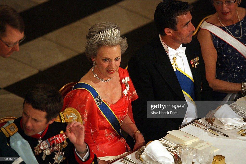 Swedish Royals Visit Denmark - Day 1 : News Photo