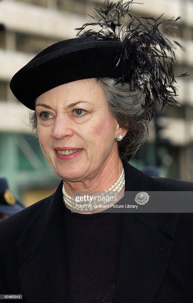 HRH Princess Alice - Memorial Service : News Photo