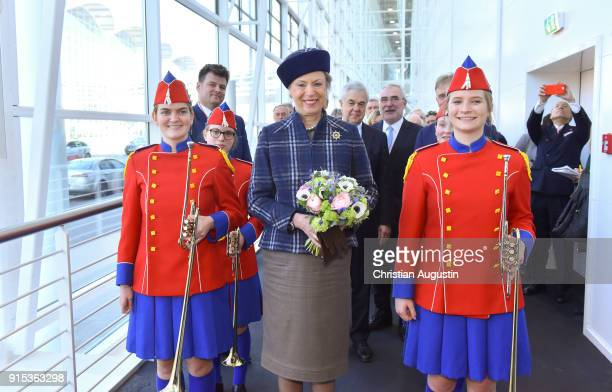 Princess Benedikte of Denmark attends the opening of HAMBURG REISEN at Hamburg Messe on February 7 2018 in Hamburg Germany The leisure and tourism...