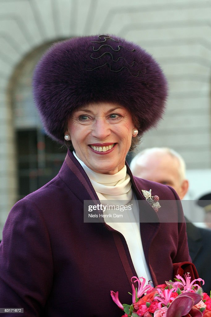 Princess Benedikte of Denmark attends the opening of the Folketingets parliamentary session at Christiansborg Castle on October 7, 2008 in Copenhagen, Denmark.