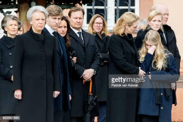 Princess Benedikte of Denmark Count Richard Carina Axelsson guest Princess Alexandra zu SaynWittgensteinBerleburg Countess Ingrid Princess Nathalie...