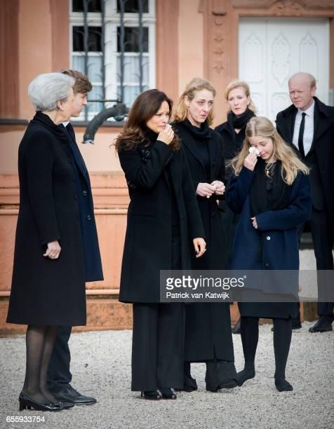 Princess Benedikte of Denmark Count Richard Carina Axelsson Princess Alexandra zu SaynWittgensteinBerleburg Princess Nathalie zu...