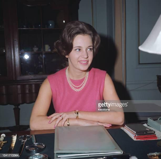 Princess Benedikte of Denmark the daughter of King Frederick IX and Queen Ingrid of Denmark 1971