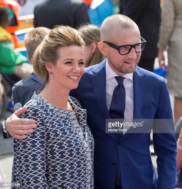 Princess Bernhard of The Netherlands and Princess Anette of The Netherlands attend King's Day celebrations on April 26 2014 in Amstelveen Netherlands
