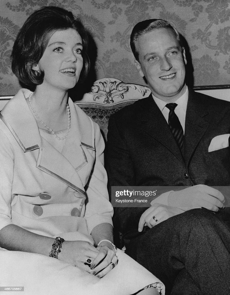 Princess Birgitta Of Sweden And Prince Johann Of Hohenzollern : News Photo