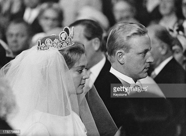 Princess Birgitta of Sweden marries Prince Johann Georg of Hohenzollern May 1961