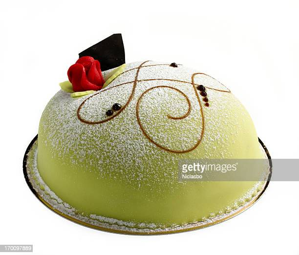 princess cake - marzipan stock pictures, royalty-free photos & images