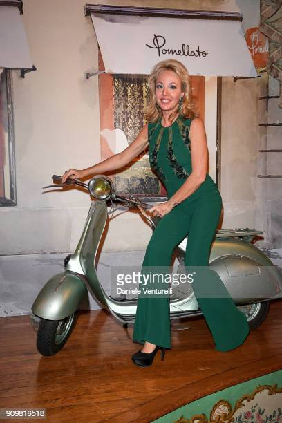 Princess Camilla Duchess of Castro attends the Cocktail Dinner for the new Pomellato campaign launch with Chiara Ferragni as part of Paris Fashion...