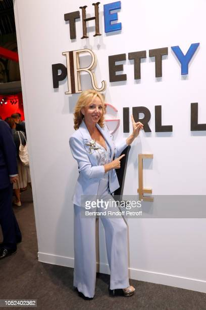 Princess Camilla Duchess of Castro attends the FIAC 2018 International Contemporary Art Fair Press Preview at Grand Palais on October 17 2018 in...