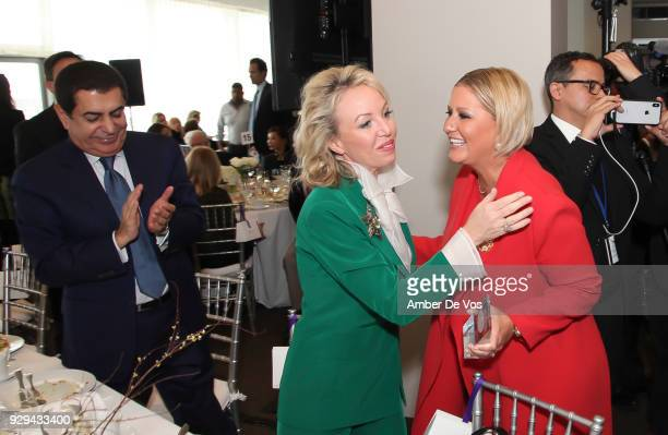 H Princess Camilla of Bourbon Two Sicilies Duchess of Castro and First Lady of Panama Lorena Castillo De Varela attend the UNWFPA Annual Awards...