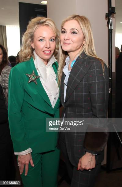 H Princess Camilla of Bourbon Two Sicilies Duchess of Castro and Michal Grayevsky attend the UNWFPA Annual Awards Luncheon in Celebration of...