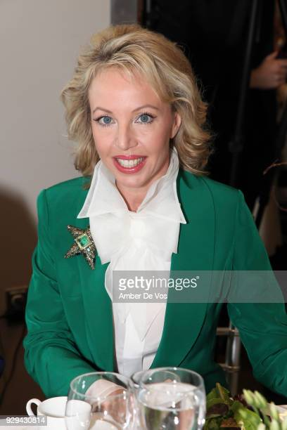 H Princess Camilla of Bourbon Two Sicilies Duchess of Castro attends the UNWFPA Annual Awards Luncheon in Celebration of International Women's Day on...