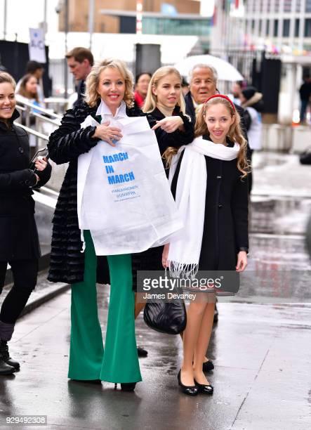 H Princess Camilla of Bourbon Two Sicilies Duchess of Castro Princess Maria Carolina Duchess of Calabria and Palermo and Princess Maria Chiara...