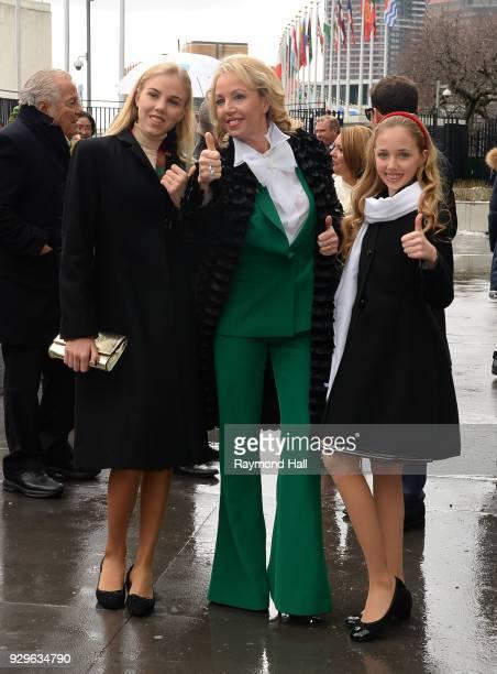H Princess Camilla of Bourbon Two Sicilies Duchess of Castro Princess Maria Chiara Duchess of Capri in Rome Monaco and Paris and Princess Maria...