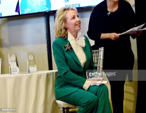 H Princess Camilla of Bourbon Two Sicilies Duchess of Castro Waits to speak at the UNWFPA Annual Awards Luncheon on March 8 2018 in New York City