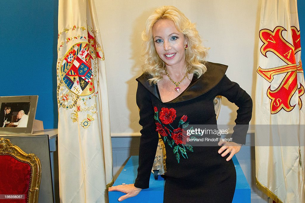 Princess Camilla of Bourbon-Two Sicilies attends the Royal House of Bourbon-Two Sicilies Exhibition on November 13, 2012 in Paris, France.