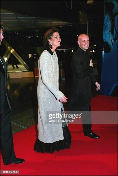 Princess Caroline and Jacques Maillot in Monaco on December 14 2002
