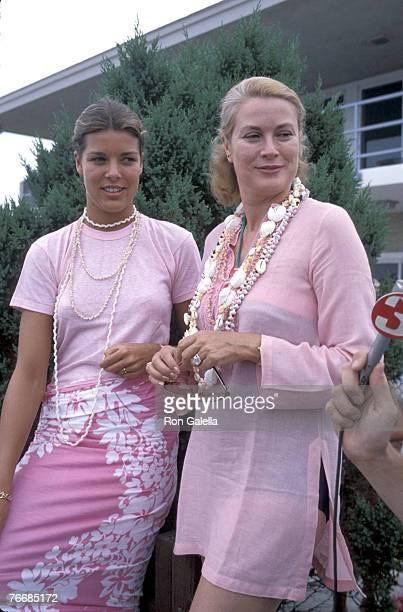Princess Caroline and Princess Grace of Monaco