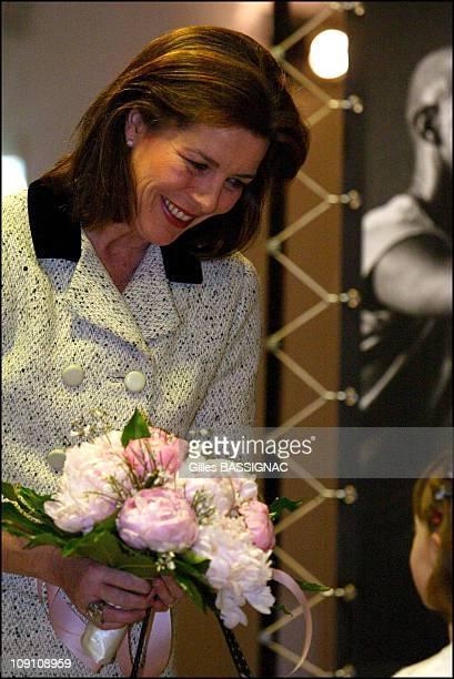 Princess Caroline At The Monaco Dance Forum Grand Openning On October 12Th 2002 In Monaco Monaco Princess Caroline