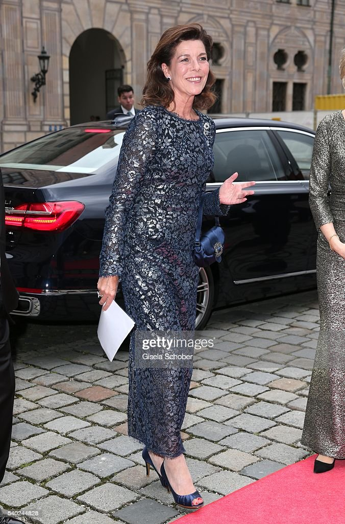 Princess Caroline of Hannover during a charity dinner hosted by AMADE Deutschland and Roland Berger Foundation at Kaisersaal der Residenz der Bayerischen Staatsregierung on June 14, 2016 in Munich, Germany.