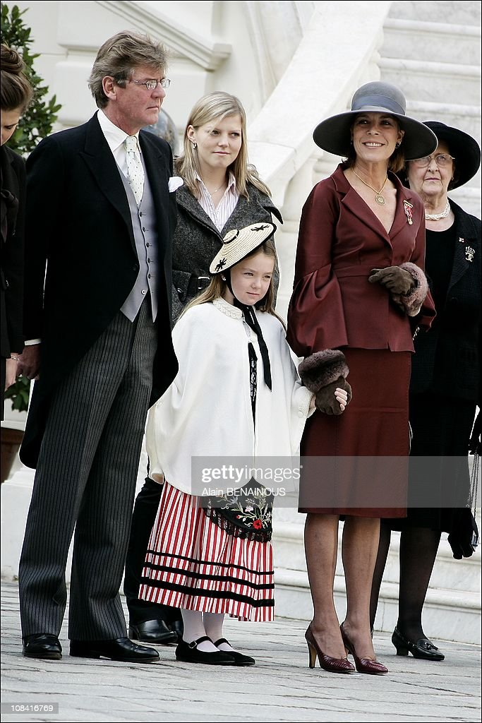 National Day in Monaco. Ceremony at the Palace in Monte Carlo, Monaco on November 19th,2007. : News Photo
