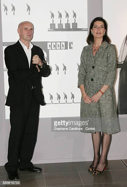 Princess Caroline of Hanover and JeanChristophe Maillot attend the Monaco Dance Forum an annual international dance meeting and festival...