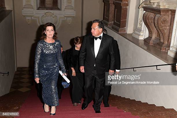 Princess Caroline of Hanover and Pieter Bogaardt attend the AMADE Deutschland Charity dinner on June 14 2016 in Munich Germany