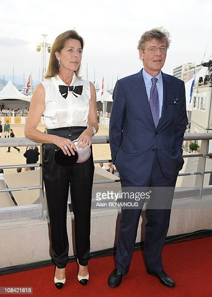 Princess Caroline of Hanover and Prince Ernst August of Hanover in Monte Carlo Monaco on June 27th 2009