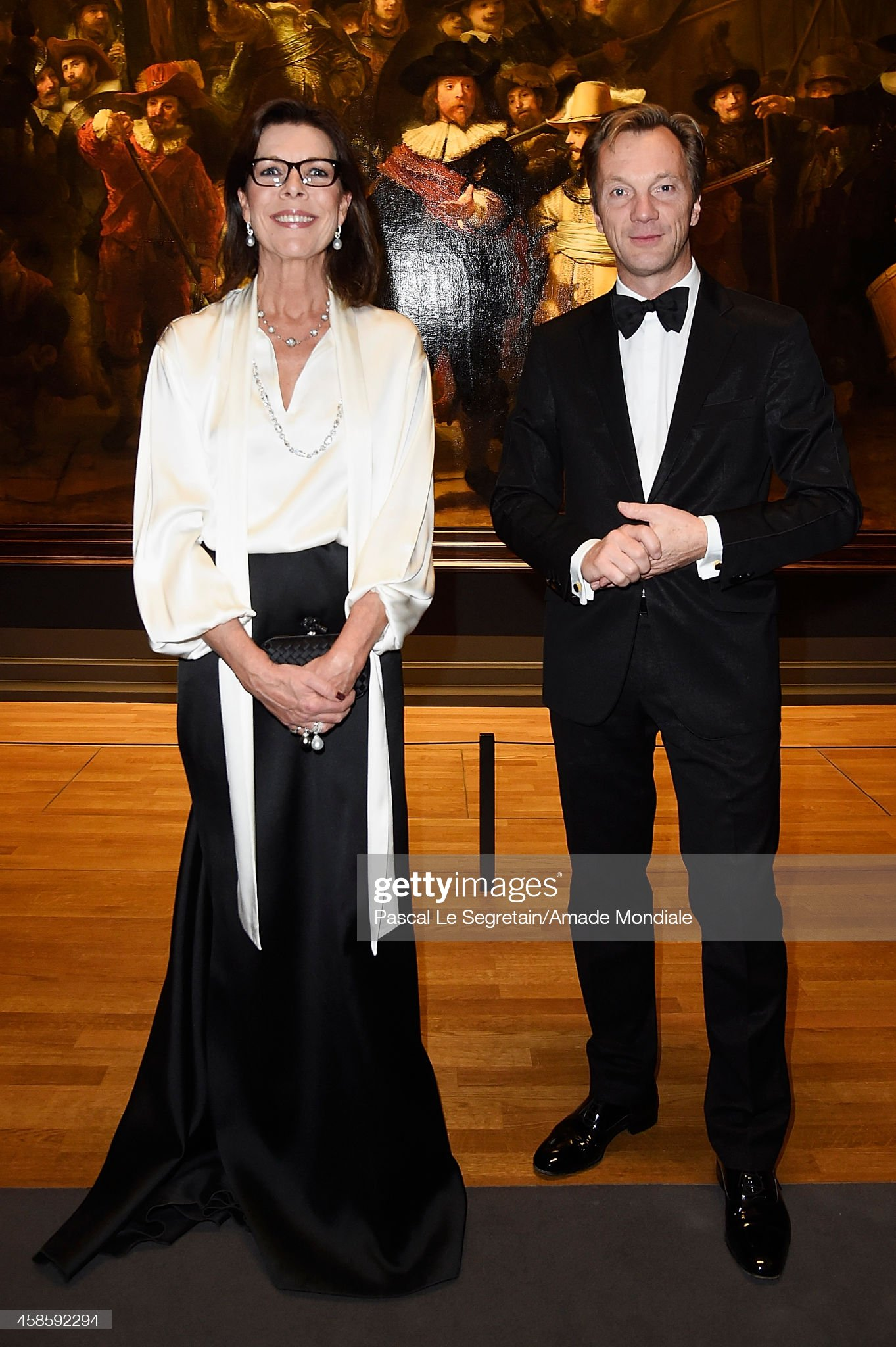Вечерние наряды Принцессы Каролины. 'AMADE' : Netherlands Launch Gala In Amsterdam : News Photo