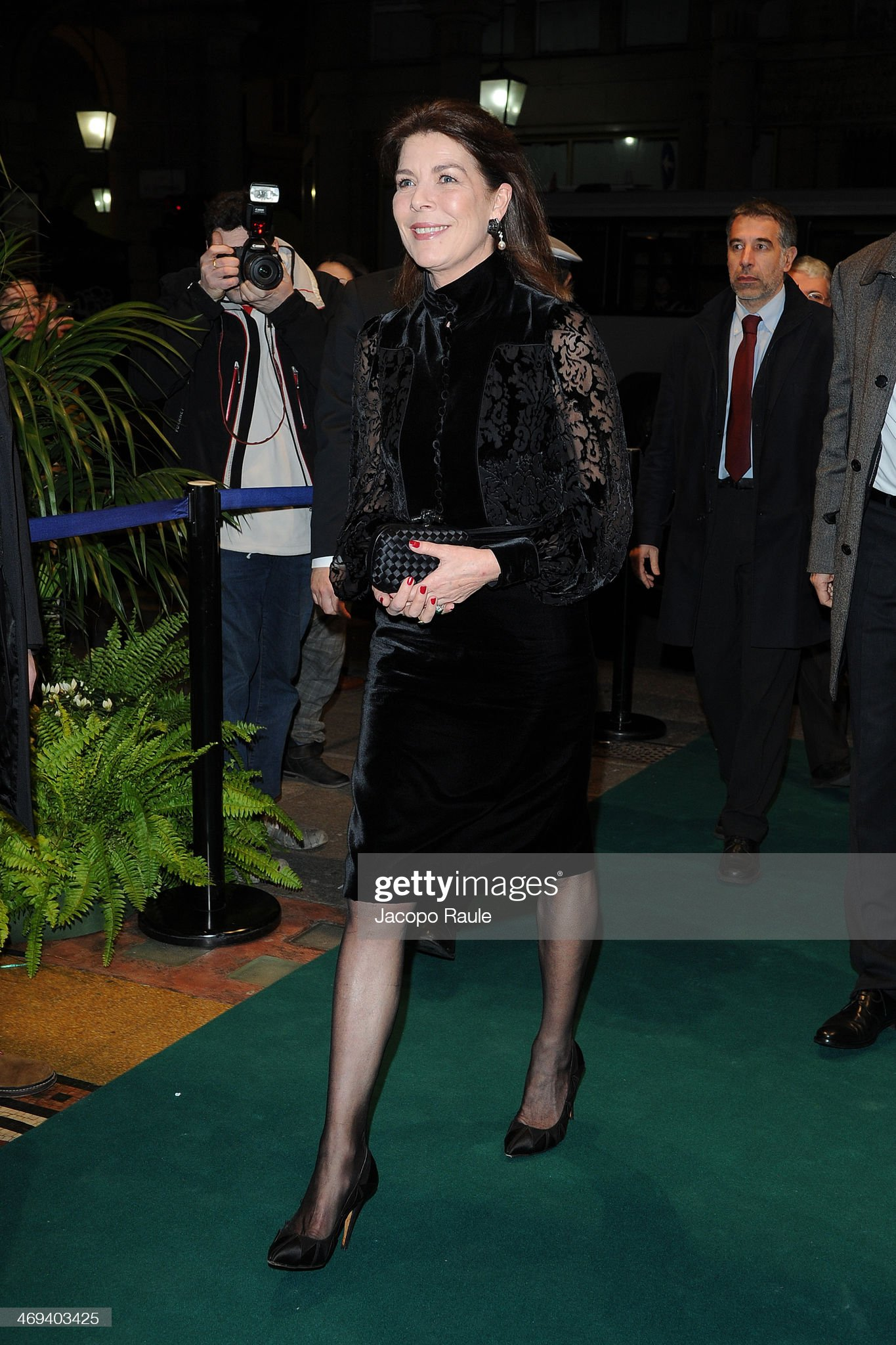 Princess Caroline Of Hanover Attends A Charity Dinner In Genoa - Arrivals : News Photo