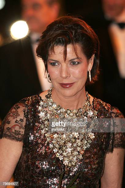 Princess Caroline of Hanover attends the 2007 Monte Carlo Rose Ball at the MonteCarlo Sporting Club on March 24 2007 in Monte Carolo Monaco