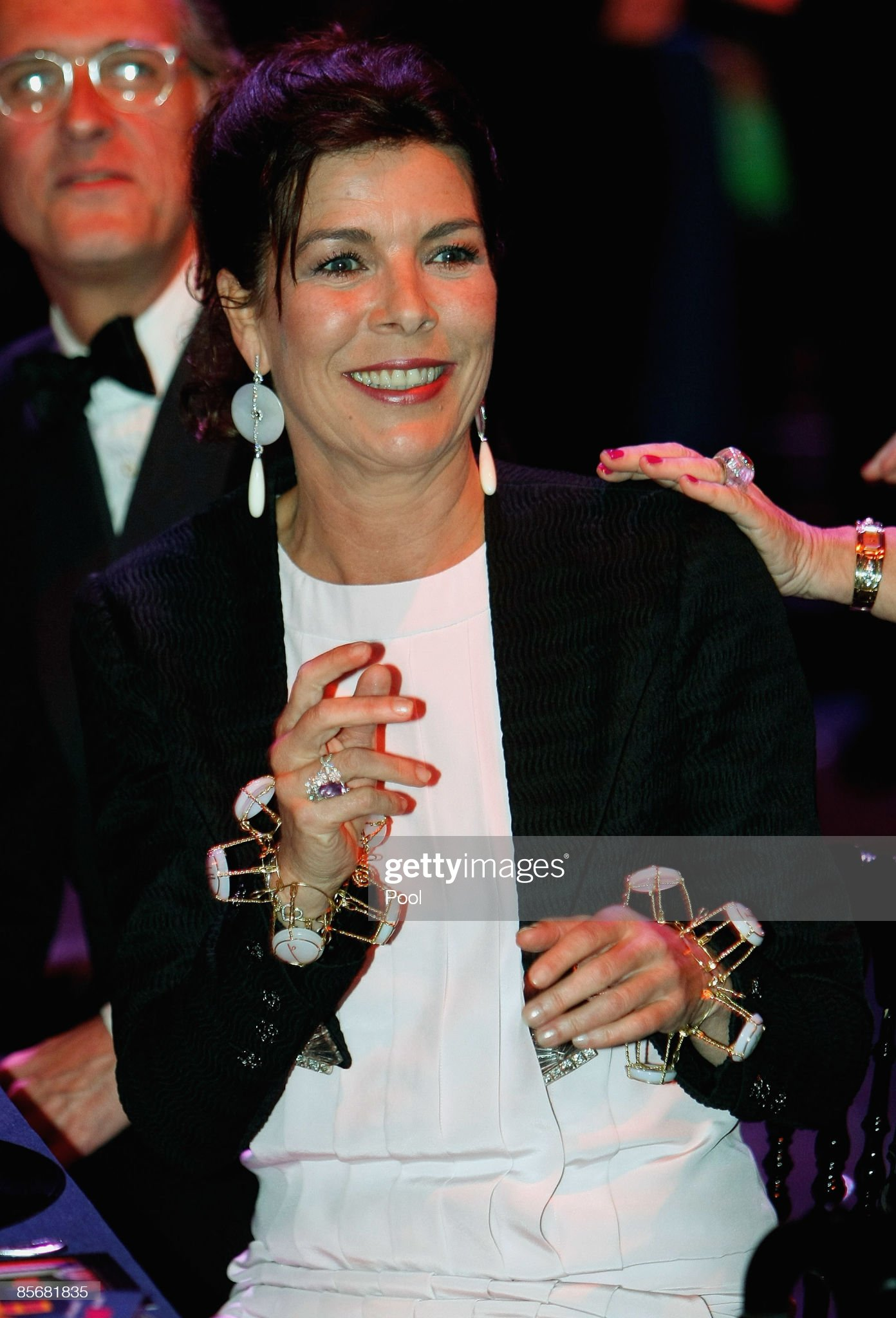 Вечерние наряды Принцессы Каролины. 2009 Monte Carlo Rose Ball : News Photo