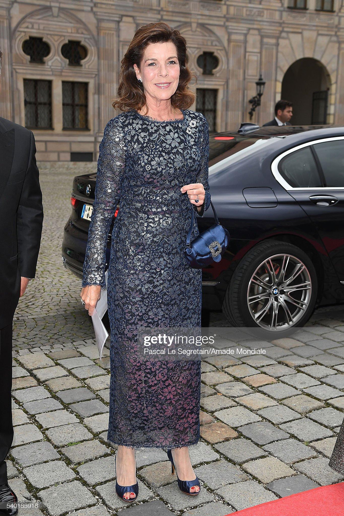 Вечерние наряды Принцессы Каролины. AMADE Deutschland : Charity Dinner At Kaisersaal der Residenz der Bayerischen Staatsregierung In Munich : News Photo