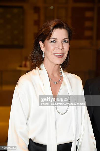Princess Caroline of Hanover attends the Amsterdam AMADE Gala launch at the Rijksmuseum on November 7 2014 in Amsterdam Netherlands