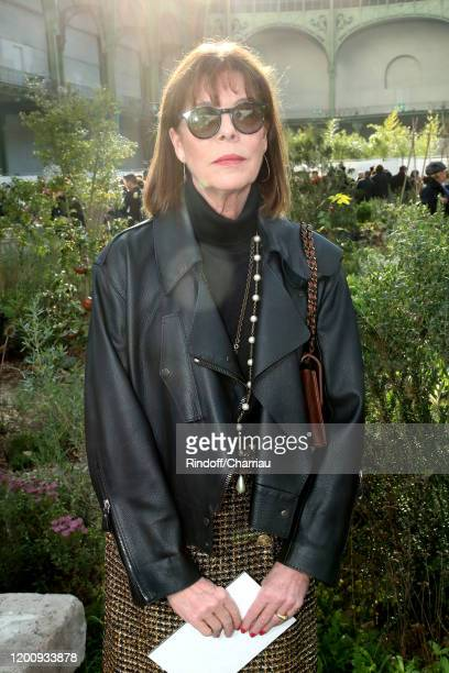 Princess Caroline of Hanover attends the Chanel Haute Couture Spring/Summer 2020 show as part of Paris Fashion Week on January 21, 2020 in Paris,...