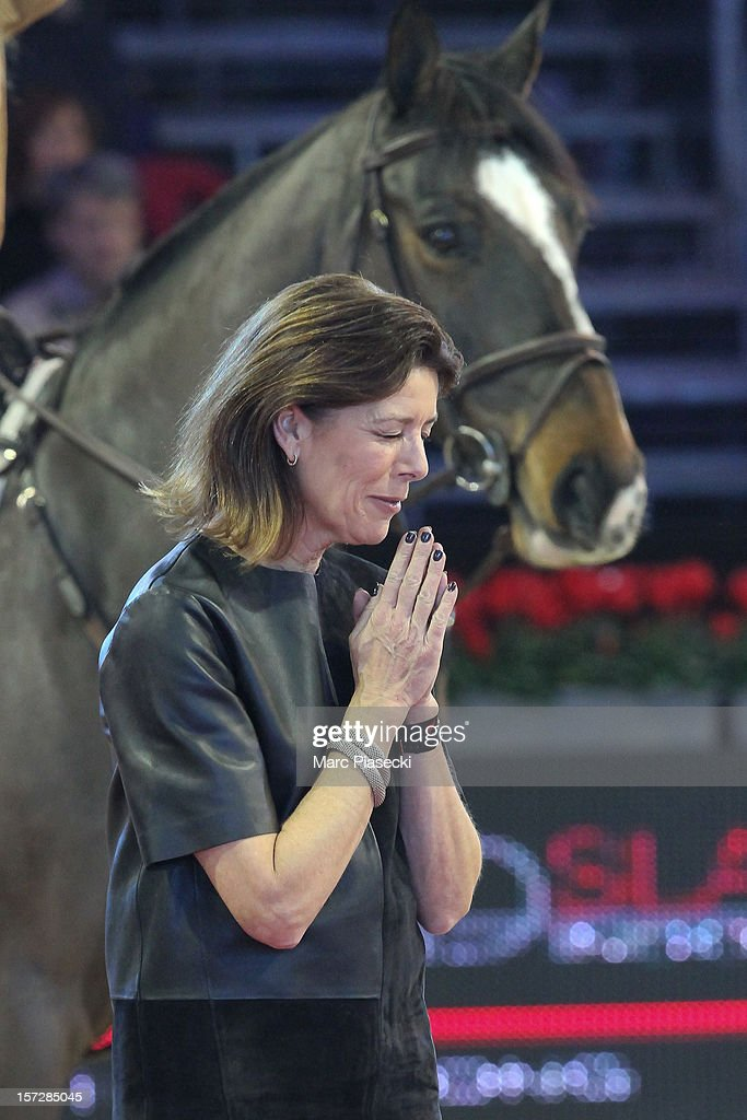 Princess Caroline of Hanover attends the 'Gucci Paris Masters 2012' at Paris Nord Villepinte on December 1, 2012 in Paris, France.