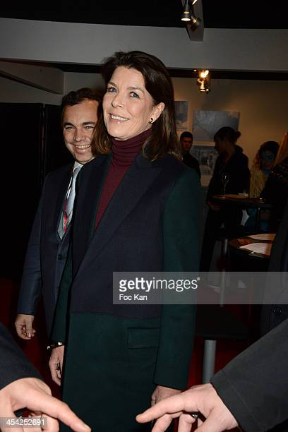 Princess Caroline of Hanover attends the Gucci Paris Masters 2013 Day 3 at Paris Nord Villepinte on December 7 2013 in Paris France