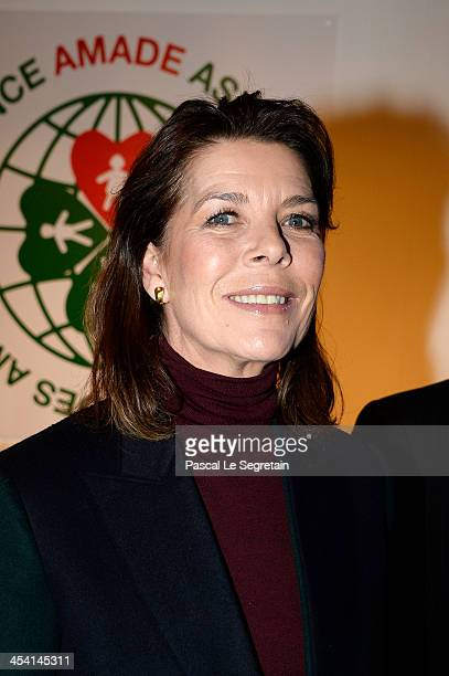 Princess Caroline of Hanover attends the Gucci Paris Masters 2013 on December 7 2013 in Paris France