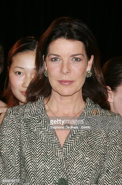 Princess Caroline of Hanover attends the Monaco Dance Forum an annual international dance meeting and festival
