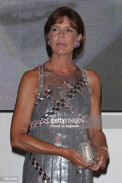 Princess Caroline of Hanover attends the Red Cross ball on July 27 2007 in Monte Carlo France