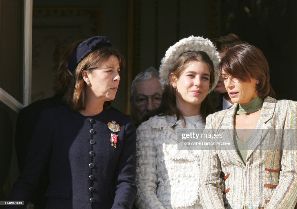 Princess Caroline of Hanover, Charlotte Casiraghi, Princess Stephanie of Monaco