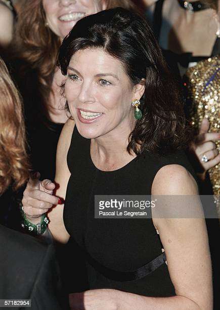 Princess Caroline of Hanover danses with her son Andrea Casiraghi at the Monte Carlo Rose Ball 2006 at The Sporting Club of Monte Carlo on March 25...