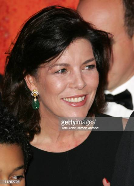 Princess Caroline of Hanover during 2006 Monaco 'Reggae' Rose Ball Arrivals at 2006 Monaco 'Reggae' Rose Ball Arrivals in Monte Carlo Monaco